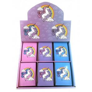 Class Gifts | Boxset Rainbow Unicorn Notepads x 48