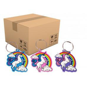 Fundraising Products | Trade Prices Rainbow Unicorn Keyrings