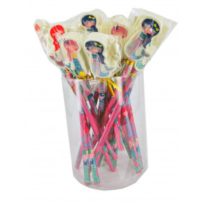 Bulk Stationery / Party Bags | Tub Mystical Mermaids Topper Pencils