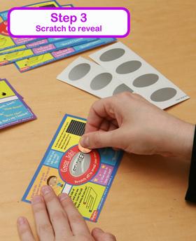 Scratch Stickers - Step 3